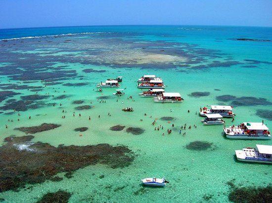 Vista Aéreas de Maragogi em Alagoas