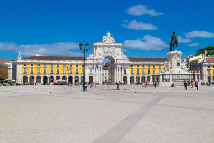 pontos turisticos de portugal praça do comércio