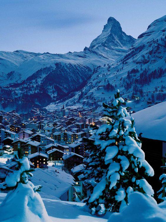 Lua de mel na Europa Zermatt